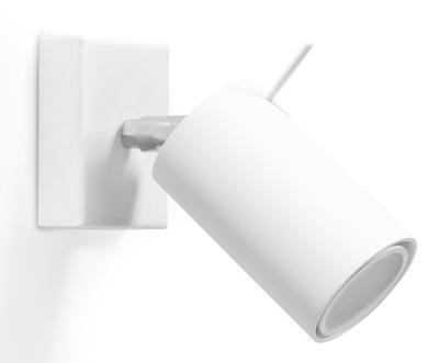 Kinkiet lampa ścienna z regulacją EYE WHITE LED