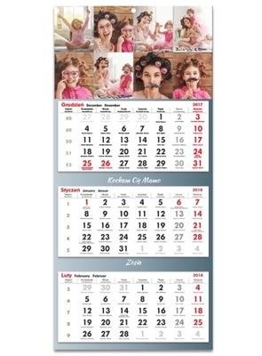 Фото-Календарь Trójdzielny 2019 Ваши фотография