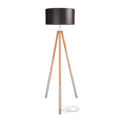 Svietidlá - Stojacie lampy - LAMPA STOJĄCA PODŁOGOWA SZTALUGOWA TRÓJNÓG LARA CZ