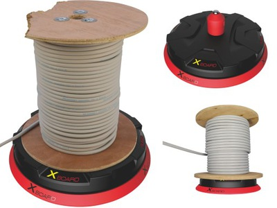 Rozwijak Stojan na prejavy kábel z bubna 200 kg