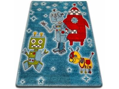 Kolorowy dywan dla dzieci 160x230 mix trójkąty 7812027775