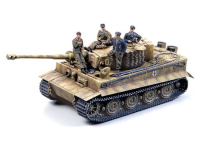 Танк Tiger I PzKpfw VI Ausf.E Late 25401 Tamiya