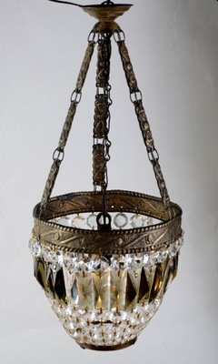 Оригинальная лампа модерн кристаллы Исп. 20 - 473