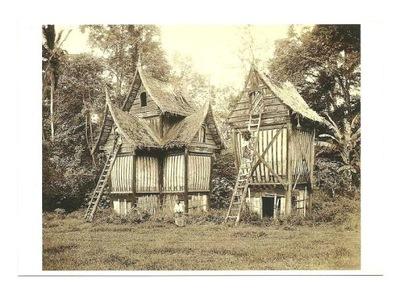 П / я. - традиционные амбары / Западная Суматра