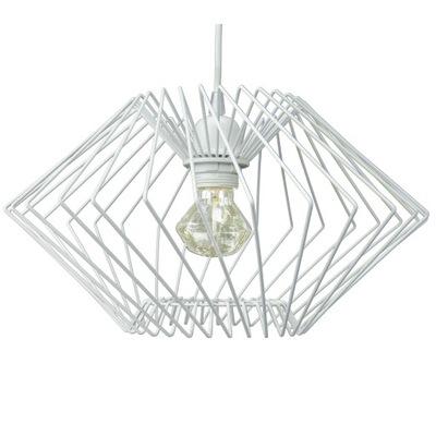 lampy, stropné lampy prívesok lampa Loft Diamond Drôt, Biele
