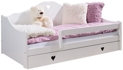 кровать детское ЗОСЯ 180x80 + матрас белое