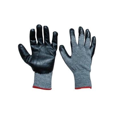 перчатки перчатки рабочие СЕРО-черные R9