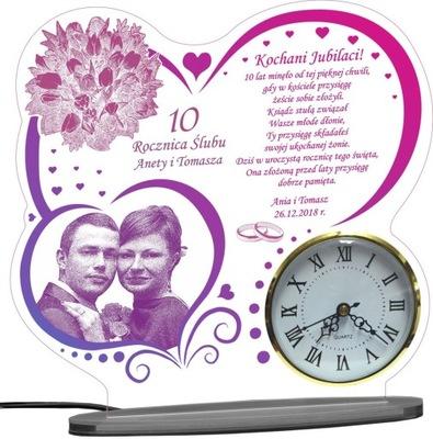 30 40 50 годовщина СВАДЬБЫ СТАТУЭТКА подарок часы