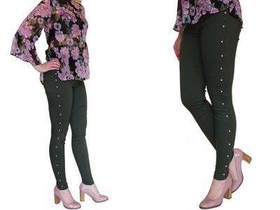 07962a488b7556 Oliwkowe spodnie na Allegro - kupuj taniej online
