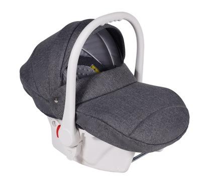 Autosedačky - Neo autosedačky 0-13 kg pre deti (biele)
