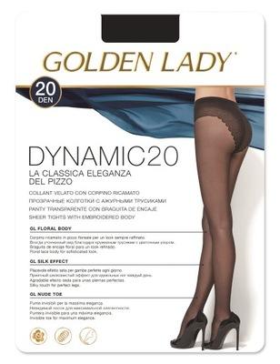 Rajstopy Golden Lady Dynamic 20 den rom.3/M