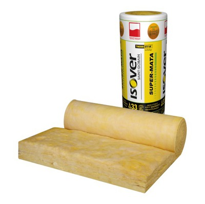 ?????????? вата Isover супер -коврик 100мм 10cm