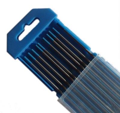 volfrámové ELEKTRÓDY WL20 MODRÁ TIG drôtu 2,4 GHz x175mm