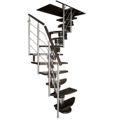 Лестница КОРА-Molo140 vertical Л -90 13 элементов