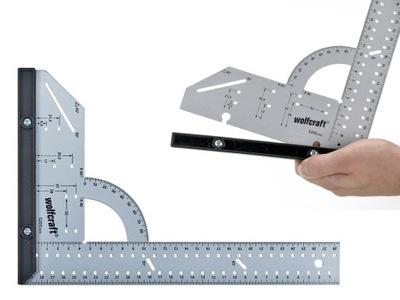 Uhlomer -  WOLFCRAFT 5205000 uholník 200x300mm ROBO-KOP