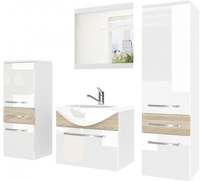 Мебель для ванной комнаты ? зеркалом ? instagram с АККУМУЛЯТОР