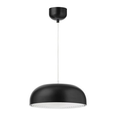 Svietidlá závesné - IKEA lampa wisząca NYMANE czarna