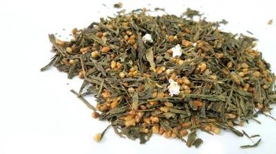 ГЭММАЙТЯ зеленый чай С РИСОМ 100г
