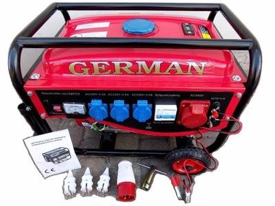 Приводимый в действие генератор генераторная instagram 3 ,63kVA GERMANY 2 ,9