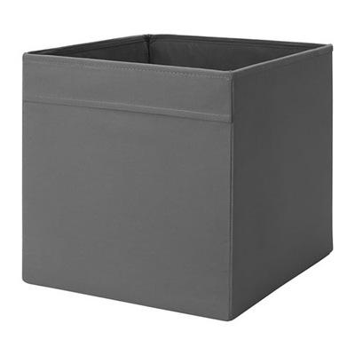 IKEA DRONA pudełko wkład szuflada do Kallax SZARY