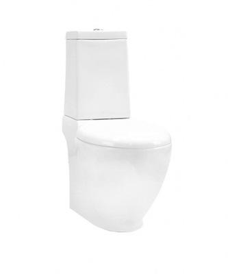 WC misa - OUTLET 267 Kompaktné WC bez bielej stoličky