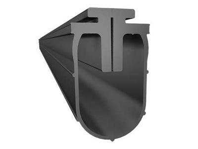 pásy dolnej k bráne je rozdelená hormann 460cm