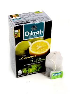 чай Dilmah Lemon & Lime 20 сумок