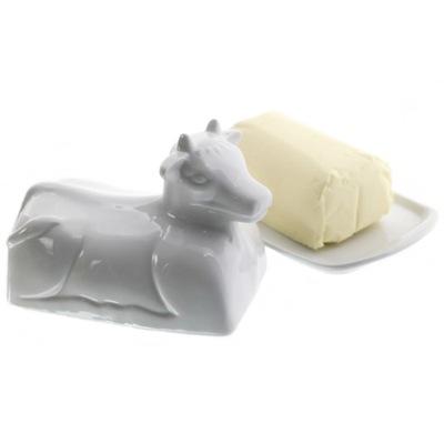 Maselniczka, масельница, емкость для масла, корова!