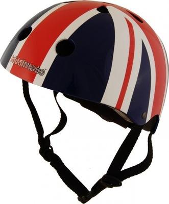 Príslušenstvo - Prilba Bike Roll Scooter Kiddimoto Union Jack M