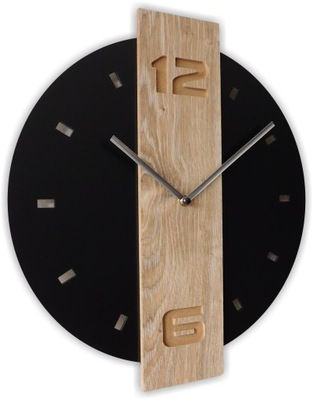 Тихий часы instagram Черный атласный дубовый W04
