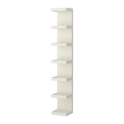 IKEA nedostatok polica 30x190 cm biele kurier24