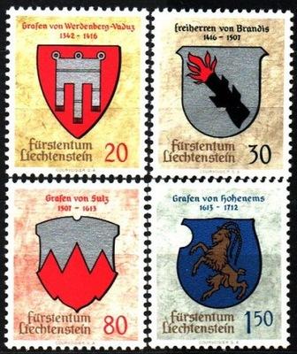 Лихтенштейн. Мне 440-43 ** - Эмблемы