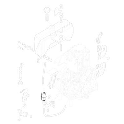 фильтр топлива 1B20 1B50 1D81 SN70232 HIFI Замена