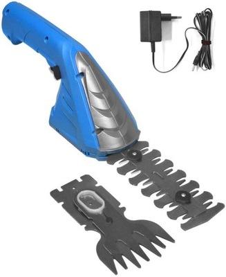 KAPOTA akumulátorové záhradné nožnice na plech nožnice na trávu 7,2 V