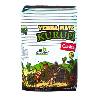 Yerba Mate Kurupi Clasica 0,5kg 500g klasyczna
