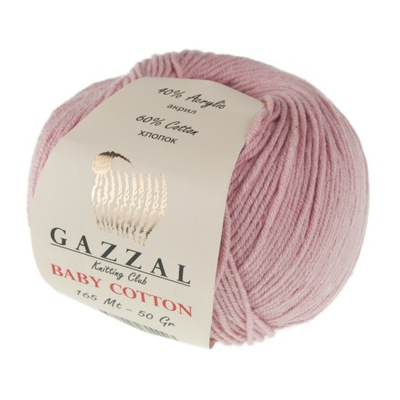пряжа Gazzal Baby Cotton 3444