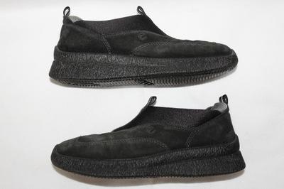 ECCO buty mokasyny SKÓRZANE białe 36 wkł 23 cm