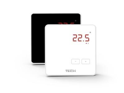Podlahové vykurovanie - TECH bezdrôtový izbový termostat R-8z 230V