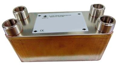 """Doskový tepelný výmenník 40 doskový 1"""" s kapacitou 55 kW 109"""
