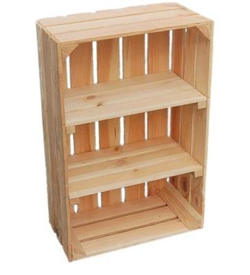 ящики деревянные коробка 20x40x60cm с Полками 2