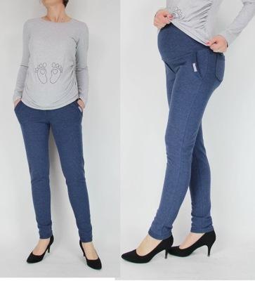 7687a56ca50401 Spodnie ciążowe dresowe H&M rozmiar M - 7483601635 - oficjalne ...