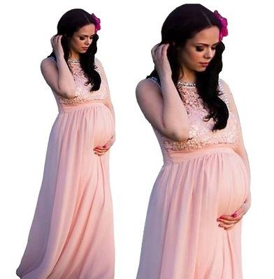 70b4e4c00a Sukienka ciążowa rozkloszowana Oasi 4409 M L 7470282630 - Allegro.pl