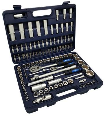 Sada nástrojov - ADLER KEY SET 1/4 1/2 108 ks Cr-V