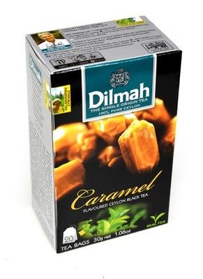 чай Dilmah карамель 20 сумок