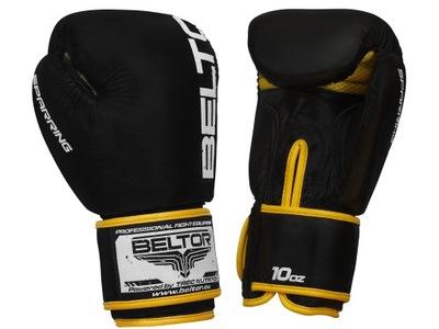 Beltor tréning s neútočícím súperom Boxerské Rukavice 16 oz Čierny