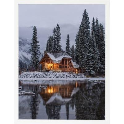 Biely drevený rám 29,7x42 - rám 42x29,7 cm