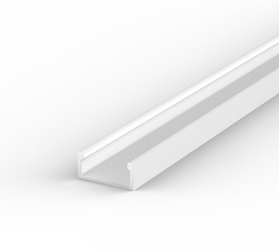 Алюминиевый ПРОФИЛЬ ??? лента LED + АБАЖУР 2м | Белый