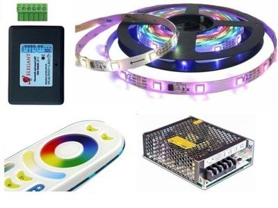 NASTAVIŤ 5m LED PÁS 5050 RGB TEPLÉ skvelé DIGITÁLNE