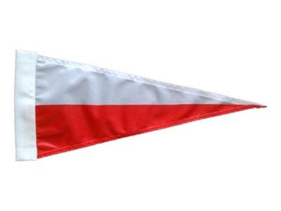 Vlajka pól Motocykel Poľsko Wimpel Vimpel