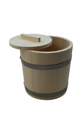 Drevené hlavne pre solenie kapusta, uhorky 5 L